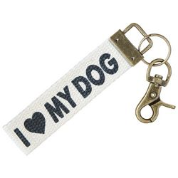 Natural Life I Love My Dog Key Chain