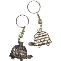 Natural Life 2-pk. I Turtley Love You Keychains