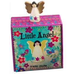 Little Angel Resin Token Charm