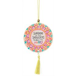 Natural Life Sunshine Makes Me Happy Tassel Air Fresheners