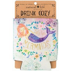 Natural Life Let's Be Mermaids Drink Sleeve