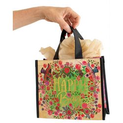 Natural Life Happy Bag Green Multi Gift Bag