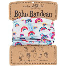 Natural Life Womens Rainbow Print Boho Bandeau