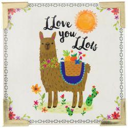 Natural Life Happy Llama Corner Magnet