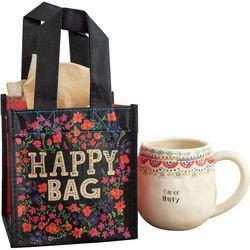Natural Life Happy Bag Floral Small Gift Bag