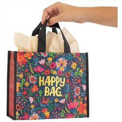 Natural Life Gold Tone Happy Bag Gift Bag