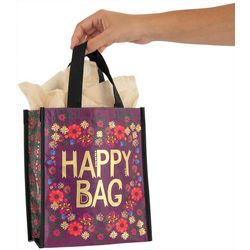 Natural Life Plum Purple Happy Bag Recycled Gift Bag