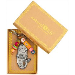 Natural Life Mermaid Santa Fe Keychain
