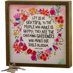 Natural Life Let Us Be Grateful Bungalow Wall Art