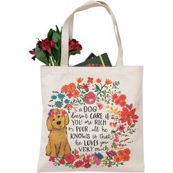Natural Life Dog - Loves You Very Much Tote Bag