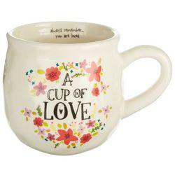Natural Life Cup Of Love Ceramic Mug