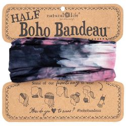 Natural Life Womens Tie Dye Half Boho Bandeau