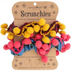 Natural Life Womens 2-pk. Pom Pom Hair Bands