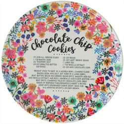 Natural Life Chocolate Chip Cookie Recipe Melamine Plate