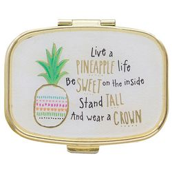 Natural Life Live A Pineapple Life Pill Box