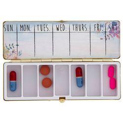 Natural Life Think Happy Be Happy Countertop Pill Box