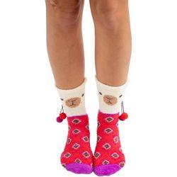 Natural Life Womens Llama Cozy Socks