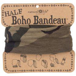 Natural Life Womens Camo Half Boho Bandeau