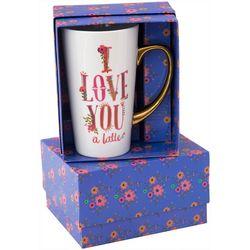 Natural Life I Love You A Latte Mug