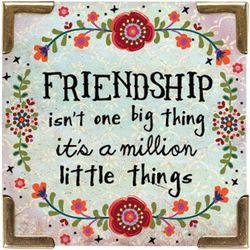 Natural Life Friendship Magnet