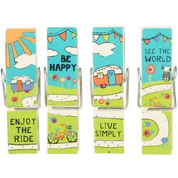 Natural Life Inspirational Message Chip Clips