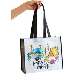 Natural Life Happy Camper Recycled Gift Bag