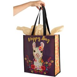 Natural Life XL Happy Bag Llama Recycled Gift Bag