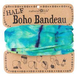 Natural Life Womens Tie-Dye Half Boho Bandeau