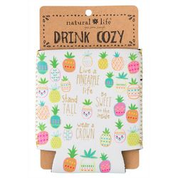Natural Life Live A Pineapple Life Can Cooler