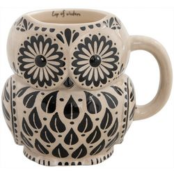 Natural Life Cup Of Wisdom Owl Mug