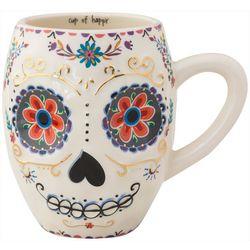 Natural Life Cup Of Happy Sugar Skull Mug