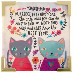 Purrfect Friends Magnet