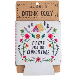 Natural Life Time For An Adventure Drink Sleeve