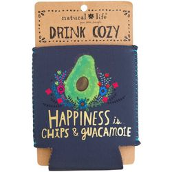 Natural Life Happiness Is Chips & Guacamole Drink Sleeve