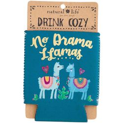 Natural Life No Drama LLamas Drink Sleeve