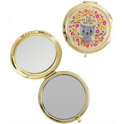 Natural Life You My Darling Matter Compact Mirror