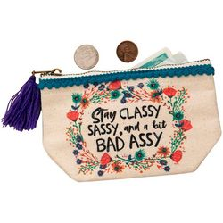 Natural Life Stay Classy Zipper Pouch