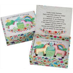 Natural Life Lucky Little Unicorns Token Charm Set