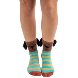 Natural Life Womens Dog Cozy Socks