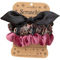 Natural Life Womens 3-pk. Bow Multi Hair Bands