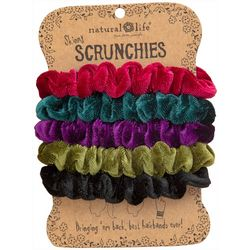 Natural Life Womens 5-pk. Multi Velvet Hair Bands
