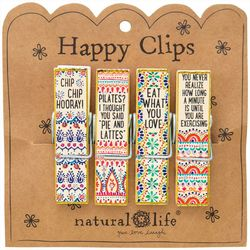 Natural Life Eat What You Love Happy Clip Set