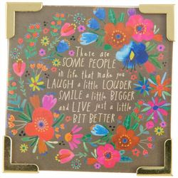 Natural Life Laugh A Little Louder Magnet