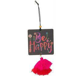 Natural Life Be Happy Air Freshener