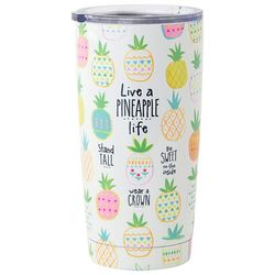 Natural Life Live A Pineapple Life Tall Tumbler