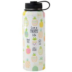 Natural Life Live A Pineapple Life Large Water Bottle