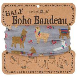 Natural Life Womens Llama Half Boho Bandeau
