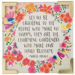 Natural Life Let Us Be Grateful Magnet