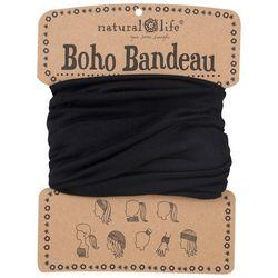 Natural Life Womens Black Boho Bandeau