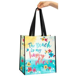 Natural Life Beach Is My Happy Place Gift Bag